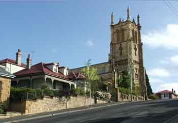 Holy Trinity Church is a grand, convict-built heritage-listed building